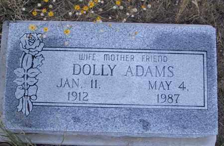 ADAMS, DOLLY - Cochise County, Arizona | DOLLY ADAMS - Arizona Gravestone Photos