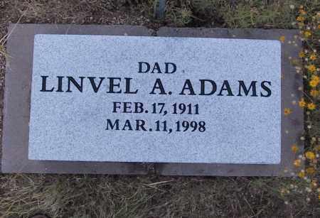 ADAMS, LINVEL - Cochise County, Arizona | LINVEL ADAMS - Arizona Gravestone Photos