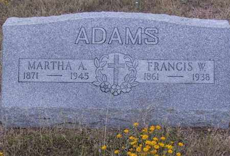 ADAMS, MARTHA - Cochise County, Arizona | MARTHA ADAMS - Arizona Gravestone Photos