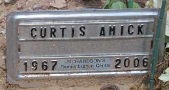 AMICK, CURTIS - Cochise County, Arizona | CURTIS AMICK - Arizona Gravestone Photos