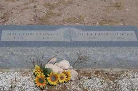 BAKER, MARY - Cochise County, Arizona   MARY BAKER - Arizona Gravestone Photos