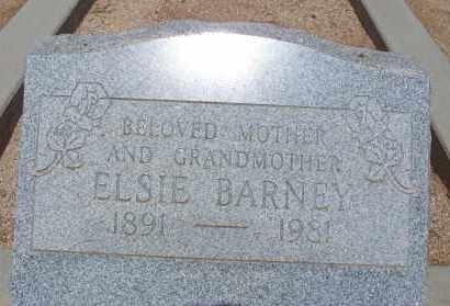 BARNEY, ELSIE - Cochise County, Arizona | ELSIE BARNEY - Arizona Gravestone Photos