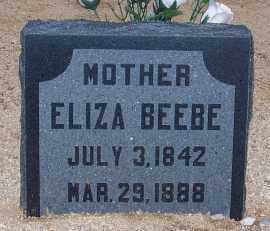 BEEBE, ELIZA - Cochise County, Arizona | ELIZA BEEBE - Arizona Gravestone Photos