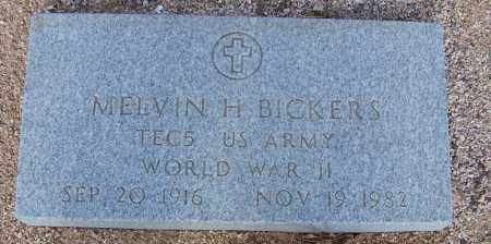 BICKERS, MELVIN H. - Cochise County, Arizona | MELVIN H. BICKERS - Arizona Gravestone Photos