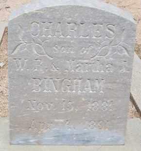 BINGHAM, CHARLES - Cochise County, Arizona | CHARLES BINGHAM - Arizona Gravestone Photos