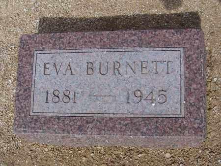 BURNETT, EVA - Cochise County, Arizona | EVA BURNETT - Arizona Gravestone Photos