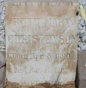 CHRISTENSON, RUTH MARY - Cochise County, Arizona | RUTH MARY CHRISTENSON - Arizona Gravestone Photos