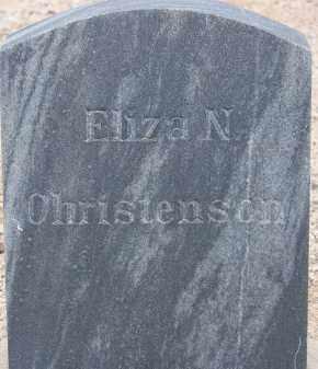 CHRISTENSON, ELIZA N. - Cochise County, Arizona | ELIZA N. CHRISTENSON - Arizona Gravestone Photos