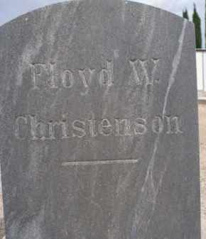 CHRISTENSON, FLOYD W. - Cochise County, Arizona | FLOYD W. CHRISTENSON - Arizona Gravestone Photos