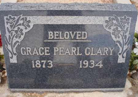CLARY, GRACE PEARL - Cochise County, Arizona | GRACE PEARL CLARY - Arizona Gravestone Photos