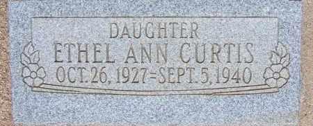 CURTIS, ETHEL ANN - Cochise County, Arizona | ETHEL ANN CURTIS - Arizona Gravestone Photos