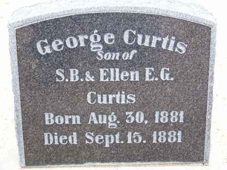 CURTIS, GEORGE - Cochise County, Arizona | GEORGE CURTIS - Arizona Gravestone Photos