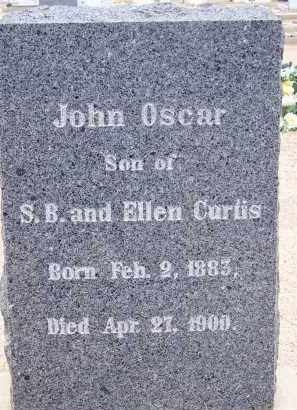 CURTIS, JOHN OSCAR - Cochise County, Arizona | JOHN OSCAR CURTIS - Arizona Gravestone Photos