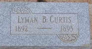 CURTIS, LYMAN B. - Cochise County, Arizona | LYMAN B. CURTIS - Arizona Gravestone Photos