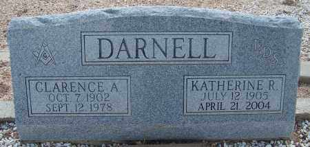 DARNELL, KATHERINE R. - Cochise County, Arizona   KATHERINE R. DARNELL - Arizona Gravestone Photos