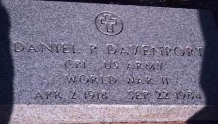 DAVENPORT, DANIEL P. - Cochise County, Arizona | DANIEL P. DAVENPORT - Arizona Gravestone Photos