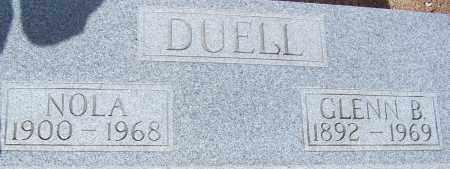 DUELL, GLENN B. - Cochise County, Arizona | GLENN B. DUELL - Arizona Gravestone Photos