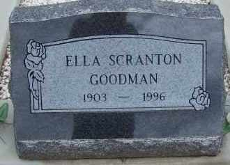 GOODMAN, ELLA SCRANTON - Cochise County, Arizona | ELLA SCRANTON GOODMAN - Arizona Gravestone Photos