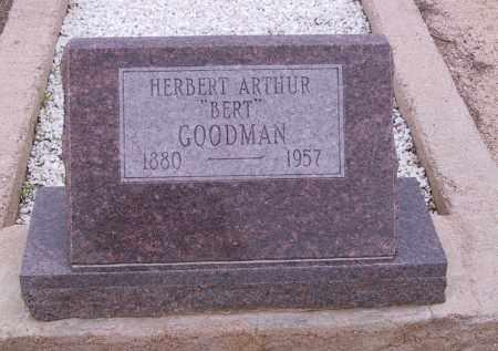 GOODMAN, HERBERT - Cochise County, Arizona | HERBERT GOODMAN - Arizona Gravestone Photos