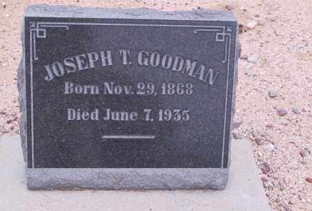 GOODMAN, JOSEPH T. - Cochise County, Arizona | JOSEPH T. GOODMAN - Arizona Gravestone Photos