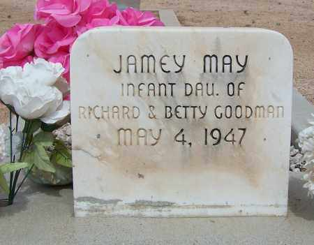 GOODMAN, JAMEY MAY - Cochise County, Arizona   JAMEY MAY GOODMAN - Arizona Gravestone Photos