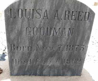 REED GOODMAN, LOUISA A. - Cochise County, Arizona | LOUISA A. REED GOODMAN - Arizona Gravestone Photos