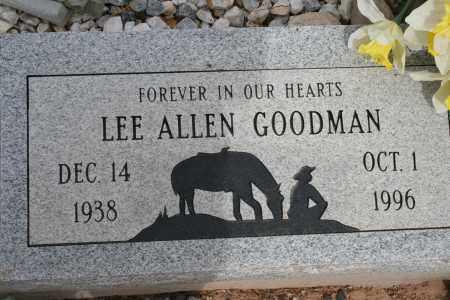 GOODMAN, LEE ALLEN - Cochise County, Arizona   LEE ALLEN GOODMAN - Arizona Gravestone Photos
