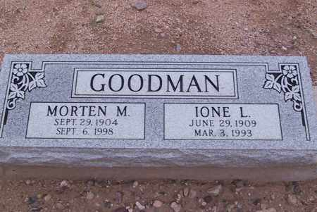 GOODMAN, MORTEN M. - Cochise County, Arizona | MORTEN M. GOODMAN - Arizona Gravestone Photos