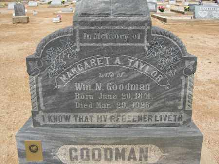 GOODMAN, MARGARET A. - Cochise County, Arizona | MARGARET A. GOODMAN - Arizona Gravestone Photos
