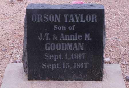 GOODMAN, ORSON - Cochise County, Arizona   ORSON GOODMAN - Arizona Gravestone Photos