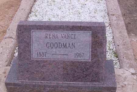 GOODMAN, RENA - Cochise County, Arizona | RENA GOODMAN - Arizona Gravestone Photos