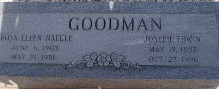 NAEGLE GOODMAN, ROSA ELLEN - Cochise County, Arizona | ROSA ELLEN NAEGLE GOODMAN - Arizona Gravestone Photos