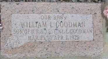 GOODMAN, WILLIAM L. - Cochise County, Arizona | WILLIAM L. GOODMAN - Arizona Gravestone Photos