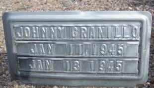 GRANILLO, JOHNNY - Cochise County, Arizona | JOHNNY GRANILLO - Arizona Gravestone Photos