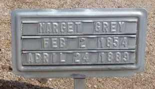 GREY, MARGET - Cochise County, Arizona | MARGET GREY - Arizona Gravestone Photos