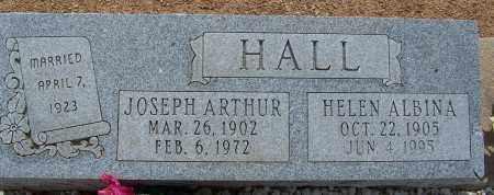 HALL, HELEN ALBINA - Cochise County, Arizona | HELEN ALBINA HALL - Arizona Gravestone Photos
