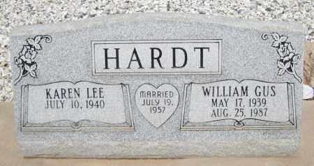 HARDT, WILLIAM GUS - Cochise County, Arizona | WILLIAM GUS HARDT - Arizona Gravestone Photos