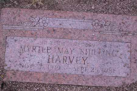 HARVEY, MYRTLE - Cochise County, Arizona | MYRTLE HARVEY - Arizona Gravestone Photos