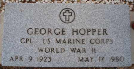 HOPPER, GEORGE - Cochise County, Arizona | GEORGE HOPPER - Arizona Gravestone Photos