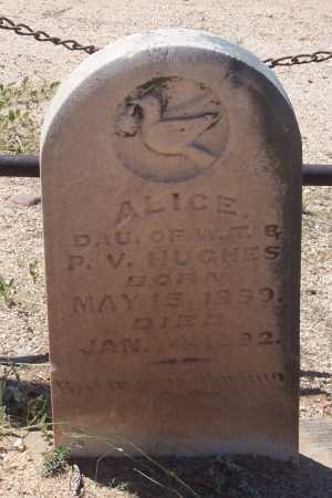 HUGHES, ALICE - Cochise County, Arizona | ALICE HUGHES - Arizona Gravestone Photos