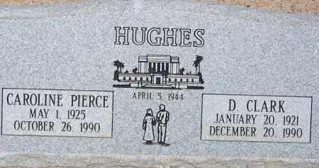 HUGHES, CAROLINE - Cochise County, Arizona | CAROLINE HUGHES - Arizona Gravestone Photos