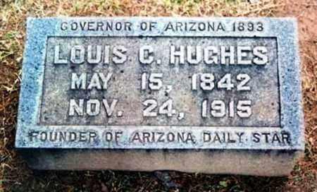 HUGHES, LOUIS C - Cochise County, Arizona   LOUIS C HUGHES - Arizona Gravestone Photos