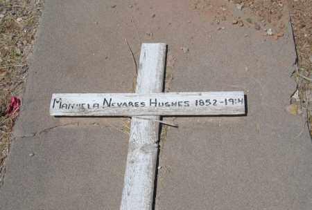 HUGHES, MANUELA - Cochise County, Arizona | MANUELA HUGHES - Arizona Gravestone Photos