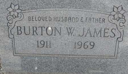 JAMES, BURTON W. - Cochise County, Arizona | BURTON W. JAMES - Arizona Gravestone Photos