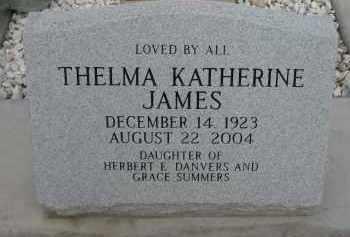 JAMES, THELMA KATHERINE - Cochise County, Arizona   THELMA KATHERINE JAMES - Arizona Gravestone Photos