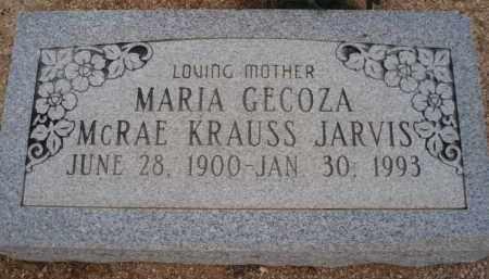 JARVIS, MARIA - Cochise County, Arizona | MARIA JARVIS - Arizona Gravestone Photos