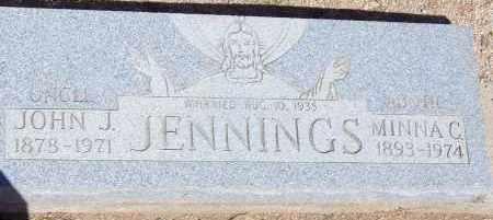 JENNINGS, JOHN J. - Cochise County, Arizona | JOHN J. JENNINGS - Arizona Gravestone Photos