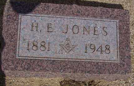JONES, H. E. - Cochise County, Arizona | H. E. JONES - Arizona Gravestone Photos