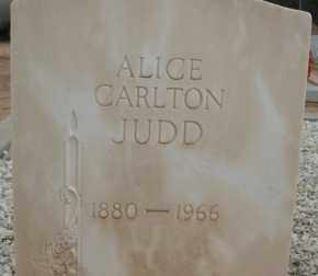 CARLTON JUDD, ALICE - Cochise County, Arizona | ALICE CARLTON JUDD - Arizona Gravestone Photos
