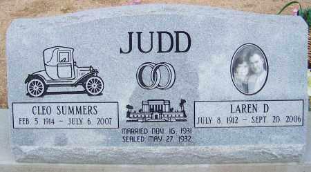 JUDD, LAREN D - Cochise County, Arizona | LAREN D JUDD - Arizona Gravestone Photos